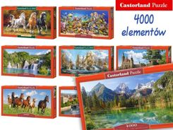 Castorland Puzzle 4000 elements. wonderful paintings CA0021