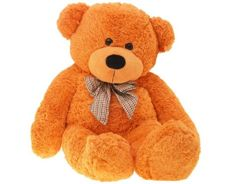 100cm BIG TEDDY BEAR with bow ZA0441