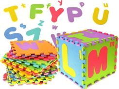 ALPHABET small foam puzzle uppercase ZA1277