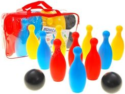 BIG COLOR BOWLING GAME 10 + 2 bowling balls ZA0822