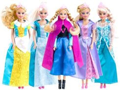 Doll Princess of the popular fairy tale 30cm ZA2025