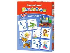 Educational puzzle Alphabet English E-043 CA0028