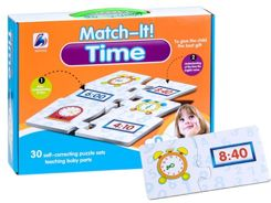Educational puzzle CLOCK that time ZA2144