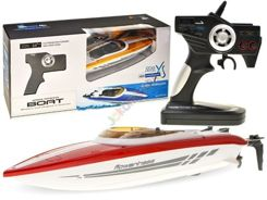Fast motorboat 20km / h + Remote Control 2.4 GHz RC0358
