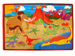 Foam puzzle for baby animals car ZA1389