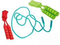 Hudora jump rope with soft handles 240 cm 71006