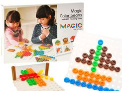 Magic beans colored tacks 3D 195 ele ZA1707
