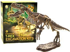Mammoth Skeleton T-REX3D excavations set ZA1777 / 8