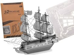Metal 3D Puzzle ship BLACK PEARL ZA1717