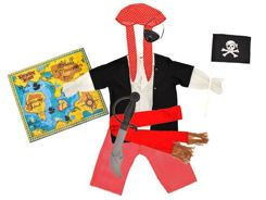 Pirate costume for carnival Pirate costume ball ZA0784