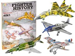 Puzzle 3D AIRCRAFT Military 91-ele set ZA1507
