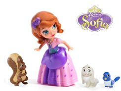 Sofia the First figurine + pet ZA1886