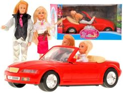 Toy Cabrio + 2 dolls CAR Honeymoon RC0275