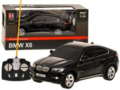 Toy car 1:24 BMW X6 licensed pilot EE + RC0238