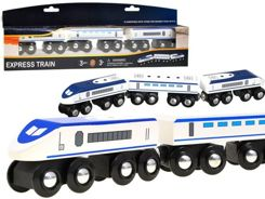 Train express modern car WOODEN ZA1802