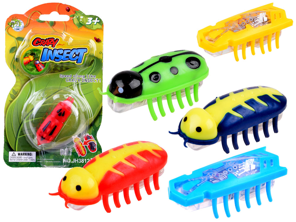 Bug Toys For Boys : Crazy insect nano robak za toys figures years