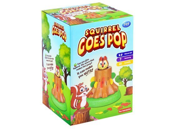 Super jumping SQUIRREL puzzle game GR0027