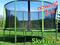 TRAMPOLINA SKYFLYER RING 2in1 427cm 14FT + Gratisy