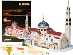 3D Puzzle Basilica in Washington 44-elem ZA1531