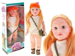 A large doll 46 cm long blond hair ZA1724