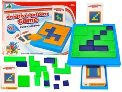 A picture puzzle squares logical game GR0221