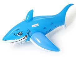 Bestway Inflatable SHARK with handles 183x102cm 41032