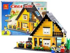 Blocks Build a house with a garden 458 pcs. ZA1736