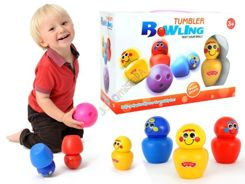 Bowling for fun colored bowls for children ZA0886
