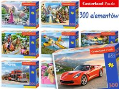 Castorland Puzzle 300 elem. beautiful images CA0026