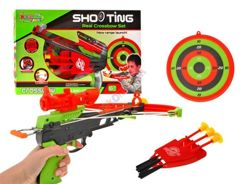 Crossbow with laser sighting + shield ZA1020