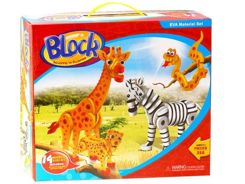 FOAM BLOCKS ZOO 350 pcs. ZA0532