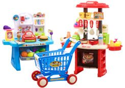 Large Kitchen Kit Shop shopping cart ZA2227