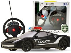 POLICE controlled AUTO + steering wheel remote control RC0349