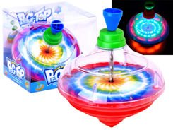 Playing Rainbow Swirl shiny toy ZA1605