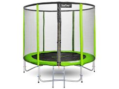 TRAMPOLINE SKYFLYER RING 2in1 244 CM 8ft + Freebies