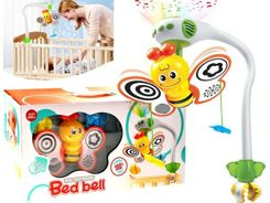 The charming carousel with a butterfly PROJECTOR ZA1701