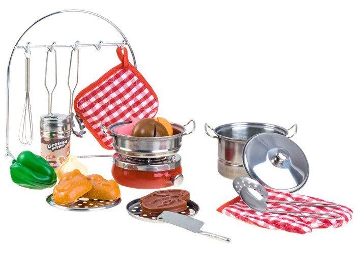 A set of kitchen utensils 23s za2046 toys kitchens 3 4 for Kitchen set for 2 year old boy